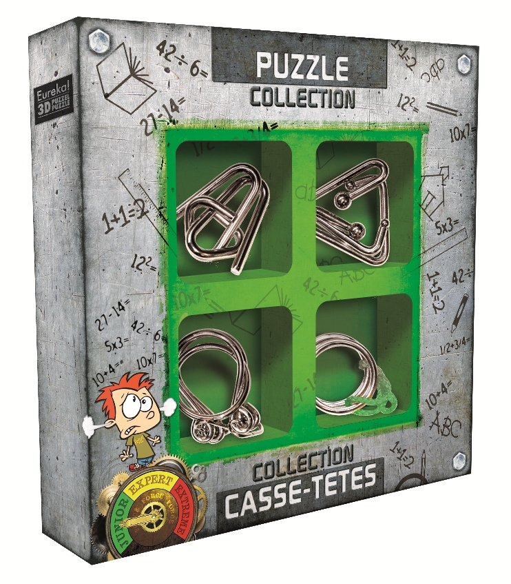 Junior Metal Puzzle Collection