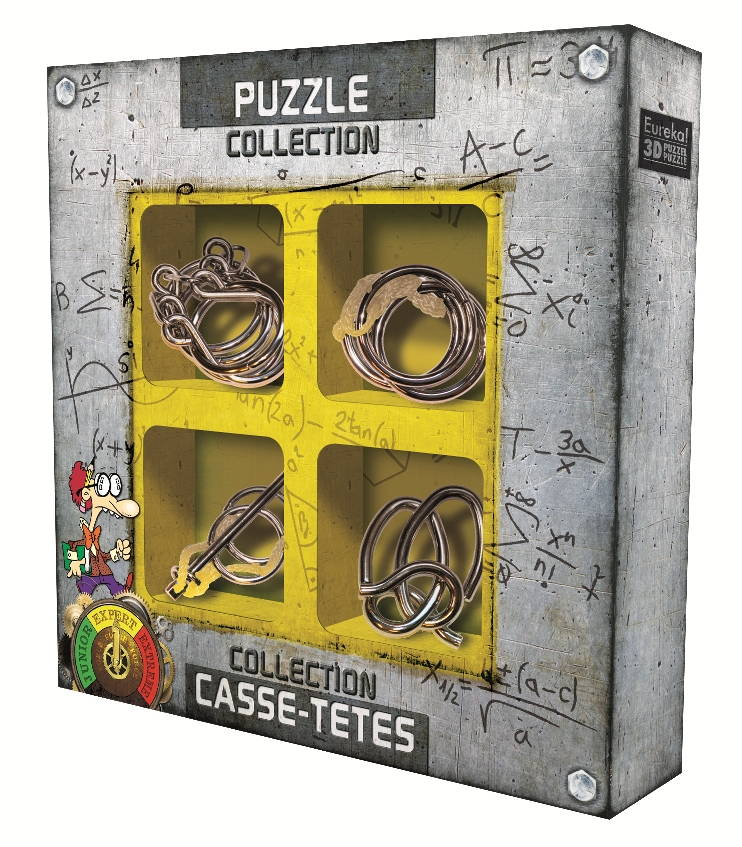 Expert Metal Puzzle Collection