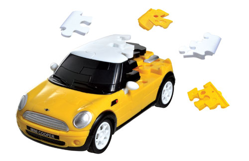 Mini Cooper - Yellow