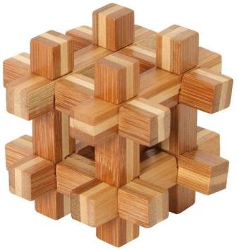 Bamboo Puzzle Ball Captured