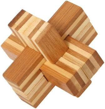 Bamboo Puzzle Cross