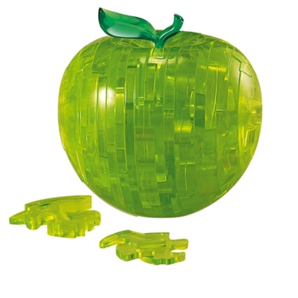 Crystal Puzzle Apple Green