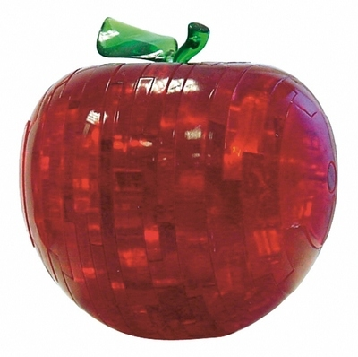 Crystal Puzzle Apple Red