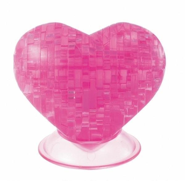 Crystal Puzzle Heart