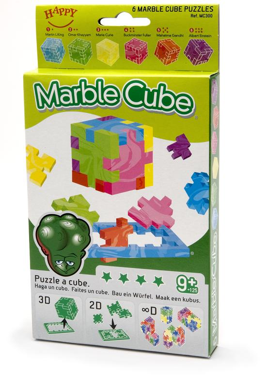 Marble Cube 6-pack