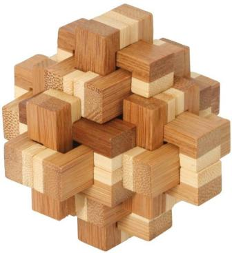 Bamboo Puzzle Pineapple