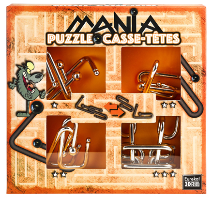 Puzzle Mania- Wolf