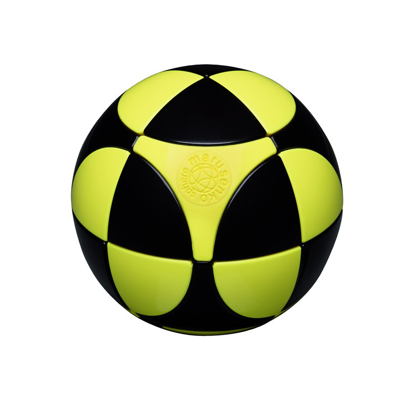 Black & Yellow Sphere
