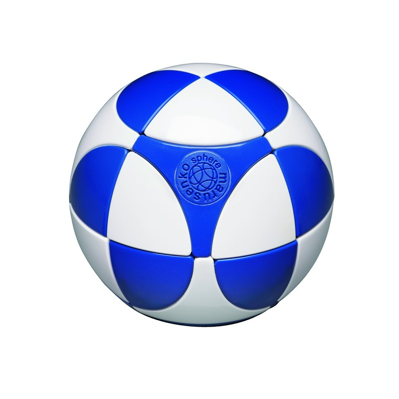 Blue & White Sphere