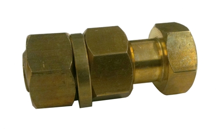 Brass Bolt (Ring-N-Nut)